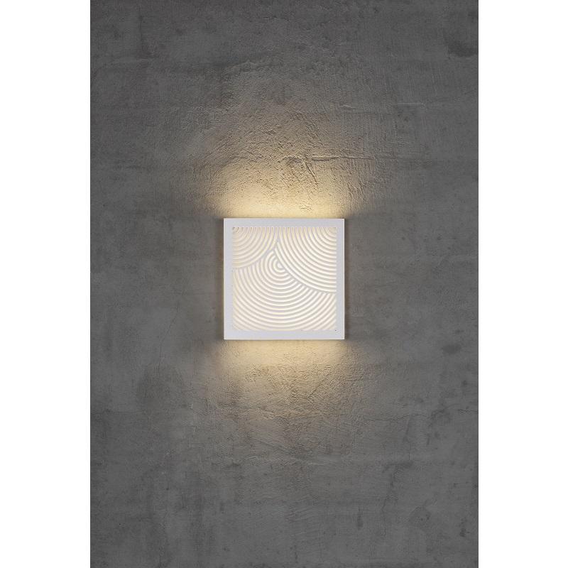 Nordlux væglampe Maze Bended LED hvid