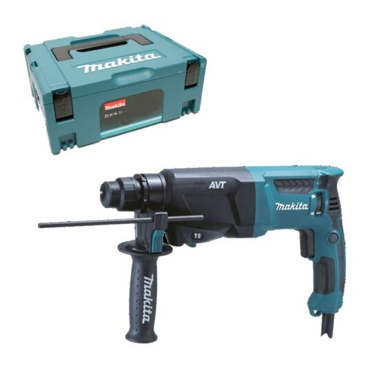 Makita borehammer SDS plus med MakPac kuffert