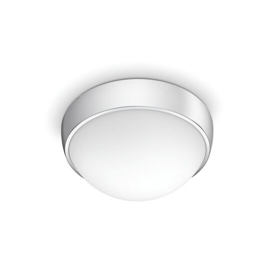 Philips LED plafond Waterlily krom IP44 8 W Ø24 cm