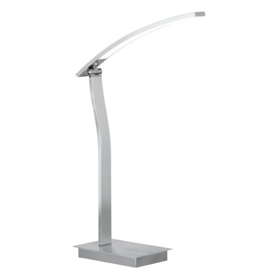 Bordlampe Banks krom LED 2 lys - Wofi