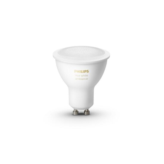 Philips Hue White Ambiance LED spotpære Bluetooth GU10 5 W