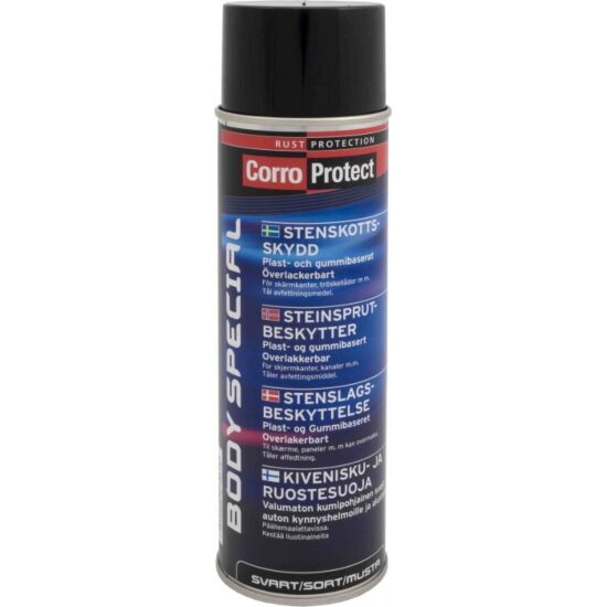 Corroprotect rustbeskyttelse body special sort 500 ml