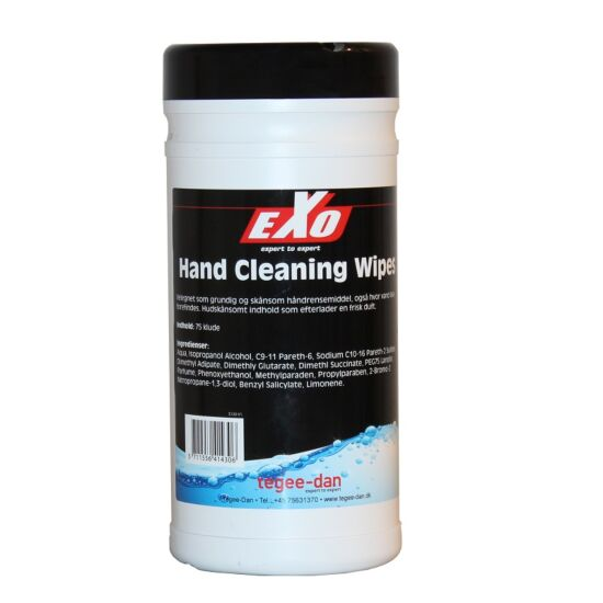 Exo hand cleaning wipes