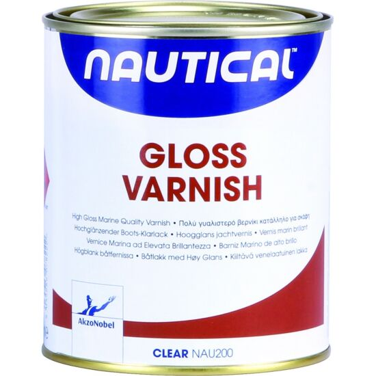 Nautical klarlak højblank 750 ml
