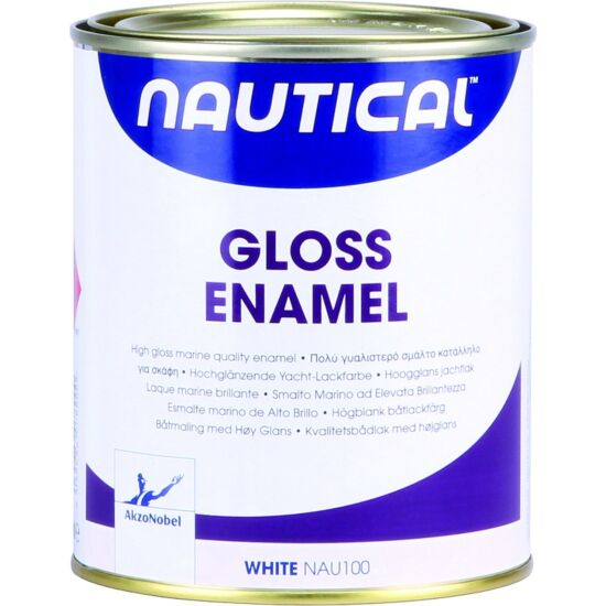 Nautical emaljemaling grøn højblank 750 ml