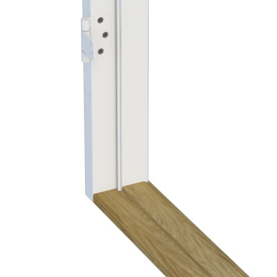 Swedoor Plus karm hvid 93 mm med not 9x21