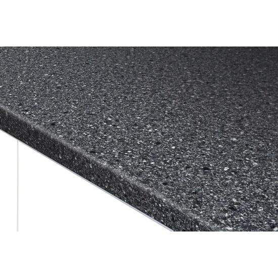 Resopal laminatbordplade Black Granite 28x635x4200 mm