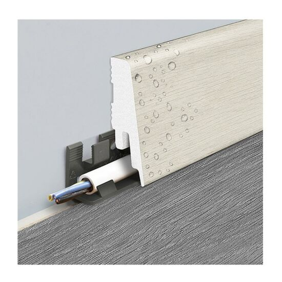 Logoclic sokkelliste Cliffline 2400 x 18 x 58 mm