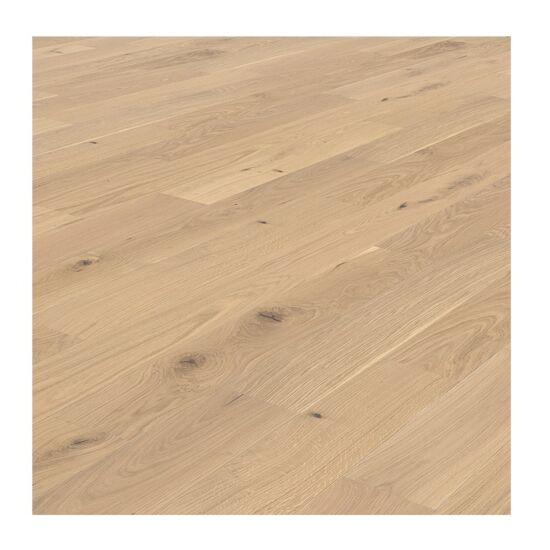 Living by Haro parketgulv Oak White Brushed 1085x180x12 mm