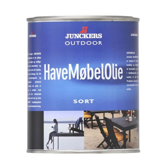 Junckers havemøbelolie sort 0,75 L