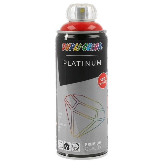 Dupli Color spraymaling platinum højglans 400 ml trafikrød