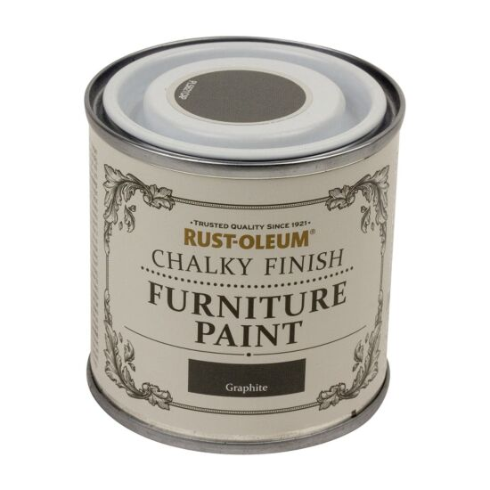Rust-Oleum møbelmaling Chalky Finish Graphite 125 ml