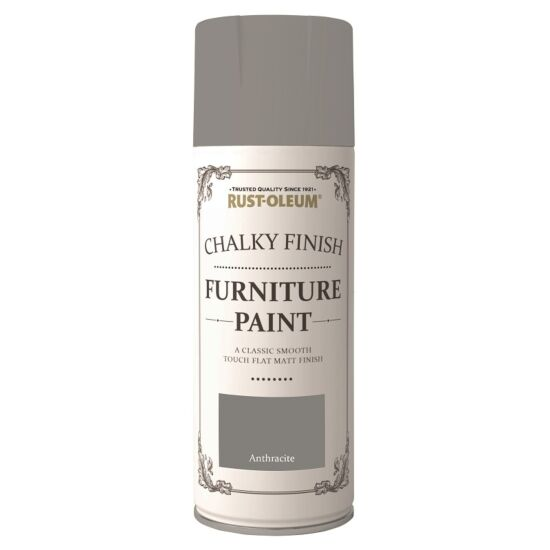 Rust-Oleum Chalky Finish spray Anthracite 400 ml