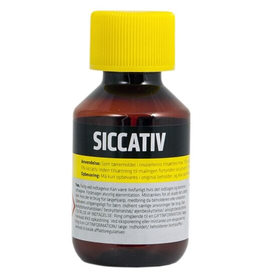Borup tørrelse siccativ 100 ml