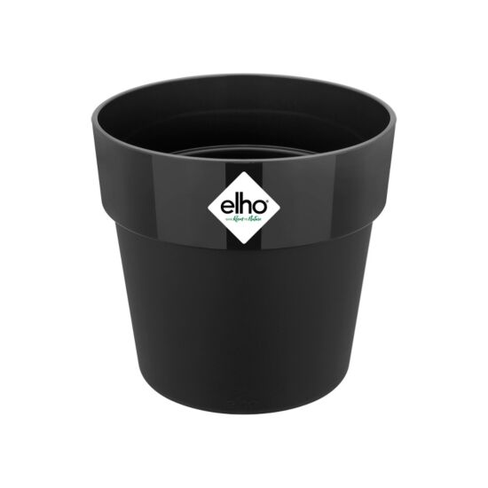 Elho urtepotte b.for original round mini living black Ø13 cm