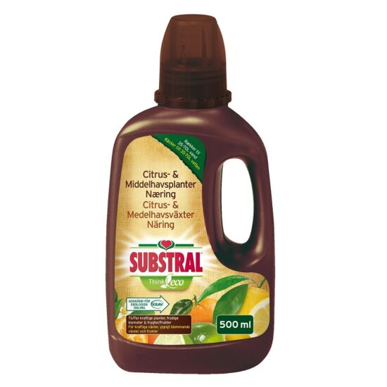 Substral citrus- og middelhavsnæring Think Eco 500 ml