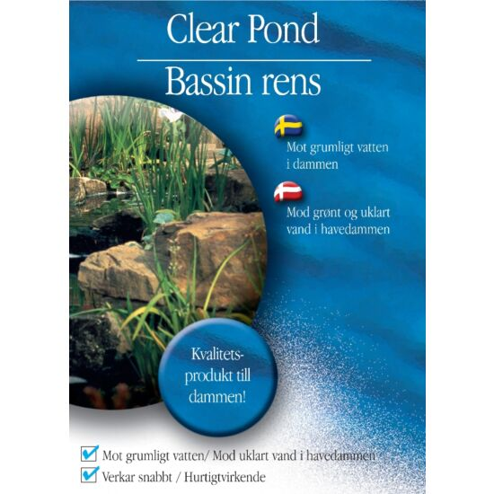 Bassinrens Clear Pond 250 ml - Pond Team