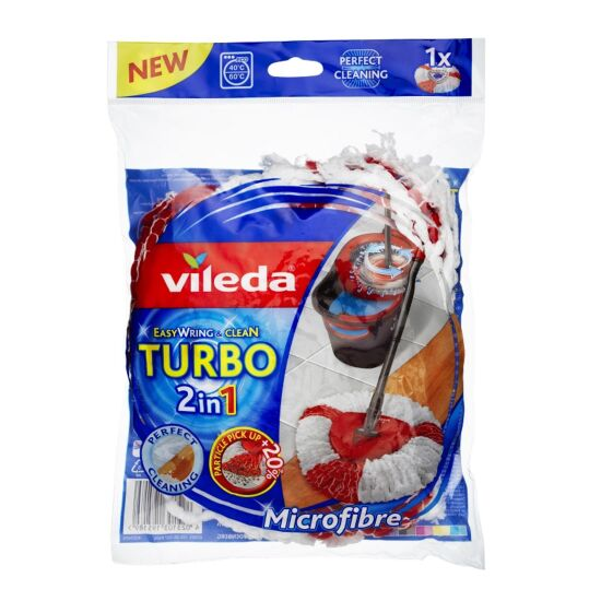Vileda spinmoppehoved refill t/Turbo Easy Wring moppe