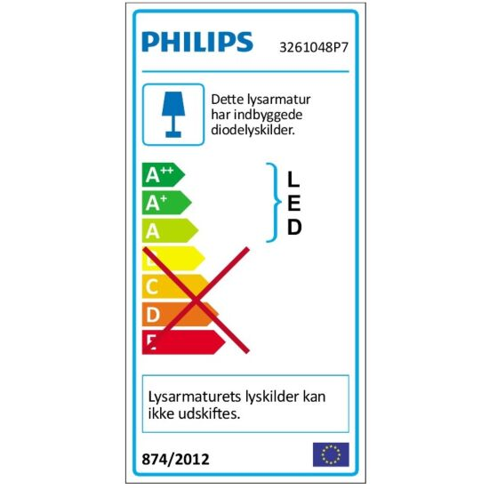 Philips Hue LED-plafond Being metal Ø35 cm inkl. lysdæmperkontakt