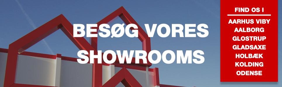 Besøg vores Badeverden showrooms