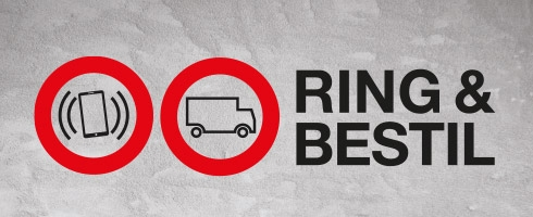Proff service ring og bestil